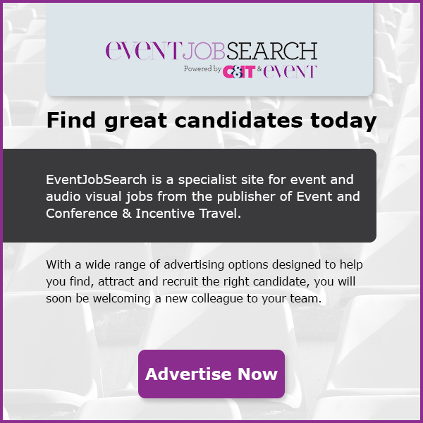 Event Job Search. Powered by C&IT & Event. Find great candidates today. EventJobSearch is a specialist site for event and audio visual jobs from the publisher of Event and Conference & Incentive Travel. With a wide range of advertising options designed to help you find, attract and recruit the right candidate, you will soon be welcoming a new colleague to your team. Advertise Now.